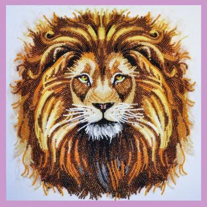 Цар звірів Р-281 Картини бісером