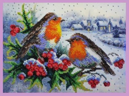 Зимова пісня Р-284 Картини бісером