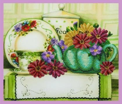 Квітковий чай Р-333 Картини бісером