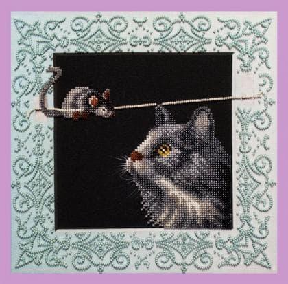 Кішки- мишки Р-337 Картини бісером