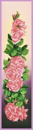 Троянди Р-356 ак Картини бісером