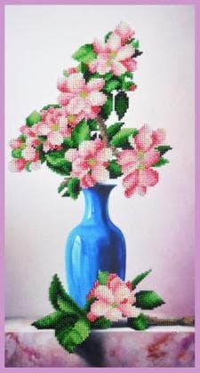Яблуневий цвіт Р-359 Картини бісером