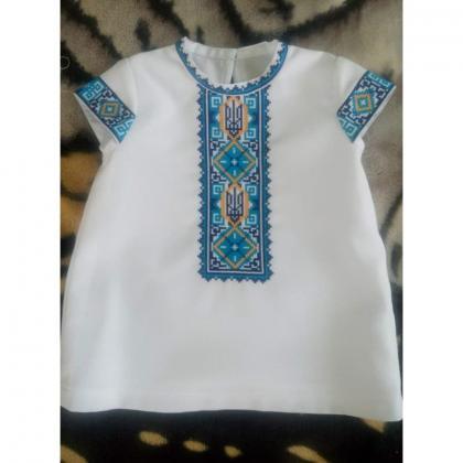 Заготовка дитячого платтячка ПДкр-021 Гармонія