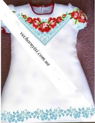 Заготовка дитячого платтячка ПДкр-43 Гармонія