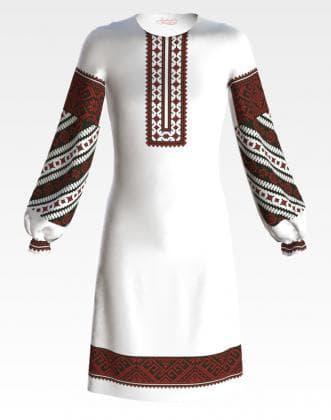 Заготовка для плаття ПД-051 Барвиста вишиванка