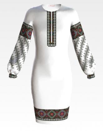 Заготовка для плаття ПД-052 Барвиста вишиванка