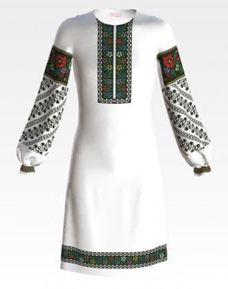 Заготовка для плаття ПД-053 Барвиста вишиванка