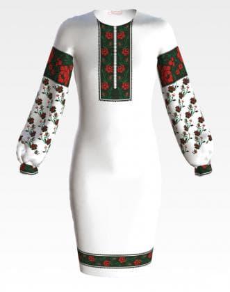 Заготовка для плаття ПД-058 Барвиста вишиванка