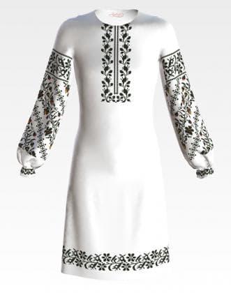 Заготовка для плаття ПД-059 Барвиста вишиванка