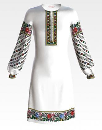 Заготовка для плаття ПД-064 Барвиста вишиванка