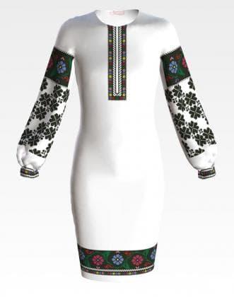 Заготовка для плаття ПД-065 Барвиста вишиванка