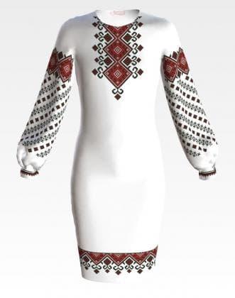 Заготовка для плаття ПД-067 Барвиста вишиванка