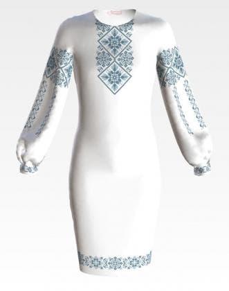 Заготовка для плаття ПД-069 Барвиста вишиванка