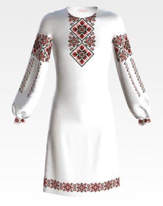 Заготовка для плаття ПД-070 Барвиста вишиванка