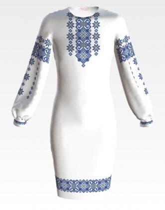 Заготовка для плаття ПД-071 Барвиста вишиванка