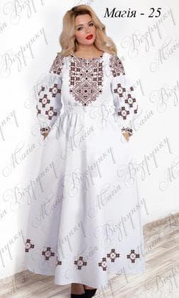Заготовка плаття Плаття Магія-25 Магія Візерунку