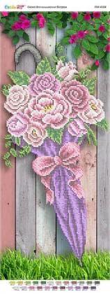 Парасолька з трояндами ПМ-4104 Сяйво БСР