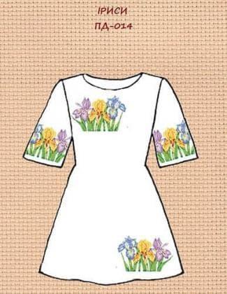 Заготовка для плаття ПП-014 ак Квітуча країна