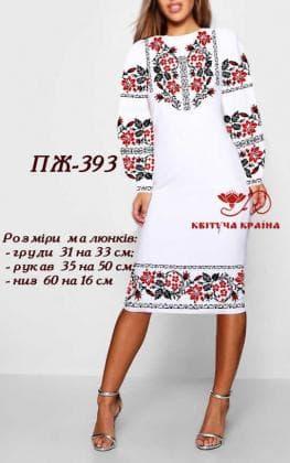 Заготовка  для плаття ПЖ-393 Квітуча країна
