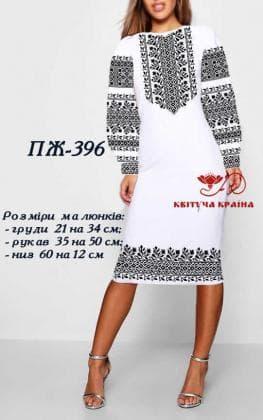 Заготовка  для плаття ПЖ-396 Квітуча країна