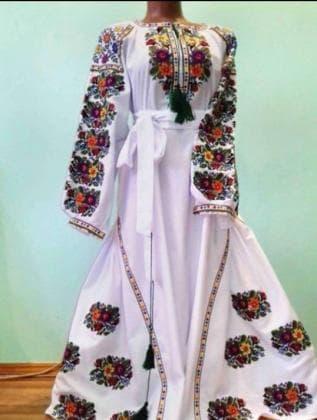 Заготовка плаття  ПЖ Борщівські мотиви 25 бохо Гармонія