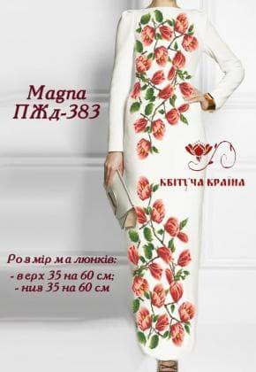 Заготовка  для плаття ПЖД-383 Квітуча країна
