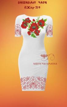 Заготовка  для плаття ПЖКР-219 Квітуча країна