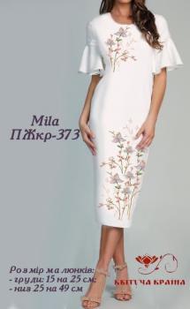 Заготовка  для плаття ПЖКР-373 Квітуча країна