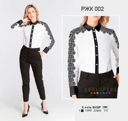 Рубашка жіноча комбінована РКЖ-002 Кольорова
