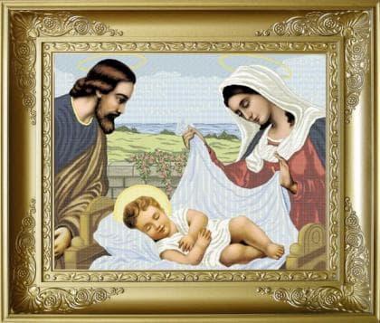Ісус в колисці РПБ-003 Княгиня Ольга