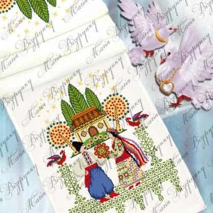 Весільний рушник ВР-012 Магія Візерунку
