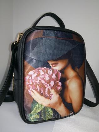 Рюкзак-сумка під вишивку М 1 С 1 Чорний ЮМА