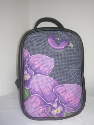 Рюкзак-сумка під вишивку М 1 С 10 чорний ЮМА