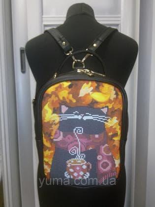 Рюкзак-сумка під вишивку М 1 С 11 чорний ЮМА