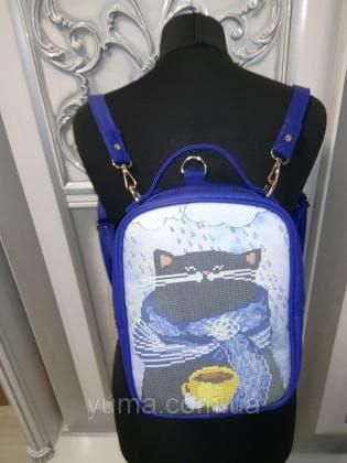 Рюкзак-сумка під вишивку М 1 С 13 Синій ЮМА