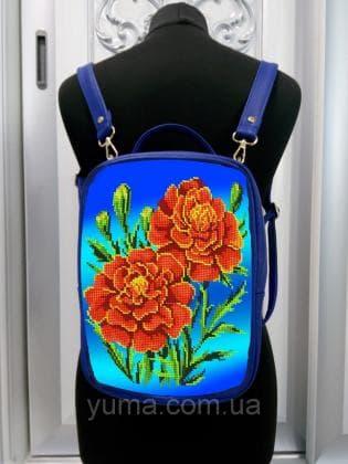 Рюкзак-сумка під вишивку М 1 С 15 Синій ЮМА