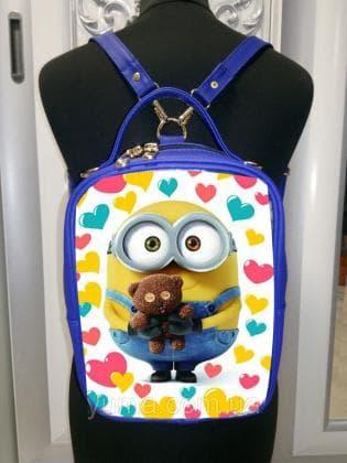 Рюкзак-сумка під вишивку М 1 С 21 Синій ЮМА