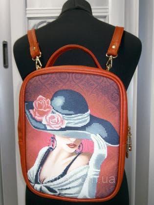 Рюкзак-сумка під вишивку М 1 С 7 Червоний ЮМА