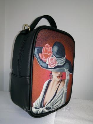 Рюкзак-сумка під вишивку М 1 С 7 Чорний ЮМА