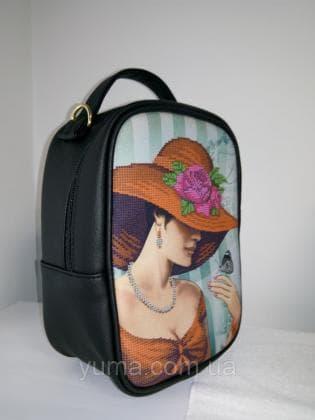 Рюкзак-сумка під вишивку М 1 С 9 чорний ЮМА