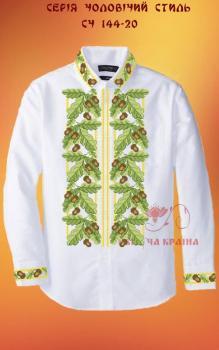 Заготовка  для сорочки СЧ-144-20 Квітуча країна