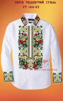 Заготовка  для сорочки СЧ-144-42 Квітуча країна