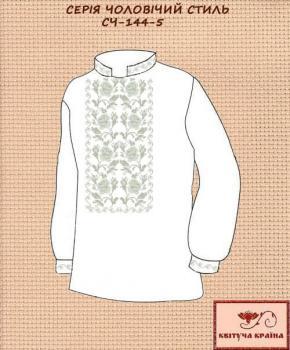 Заготовка  для сорочки СЧ-144-5 Квітуча країна