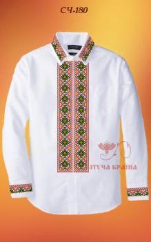 Заготовка  для сорочки СЧ-180 Квітуча країна