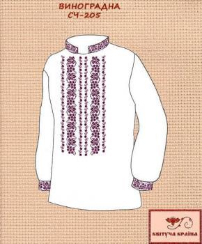 Заготовка  для сорочки СЧ-205 Квітуча країна