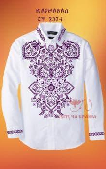 Заготовка  для сорочки СЧ-237-1 Квітуча країна