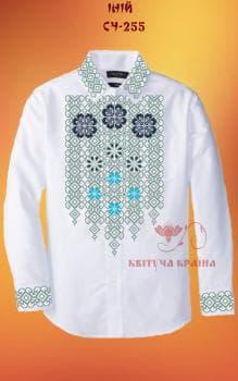 Заготовка  для сорочки СЧ-255 Квітуча країна