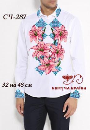 Заготовка  для сорочки СЧ-287 Квітуча країна