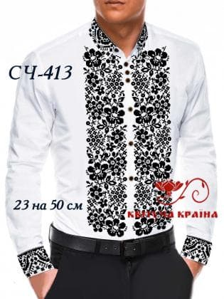 Заготовка  для сорочки СЧ-413 Квітуча країна