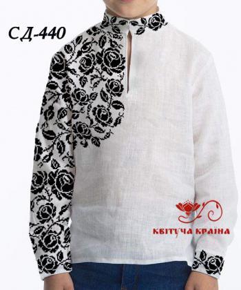 Заготовка для сорочки СП-440 Квітуча країна